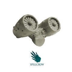 Flying Engine Spellcrow bits
