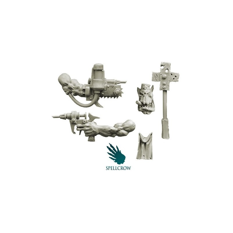 Ork Doctor Conversion Set Spellcrow bits