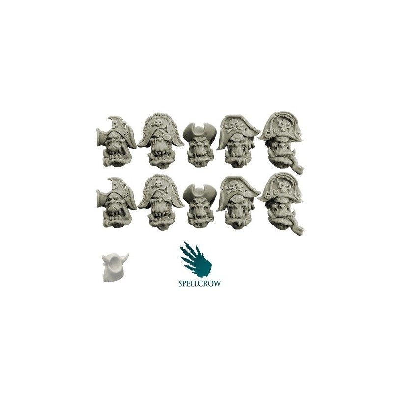 Freebooters Orcs Heads A Spellcrow bits