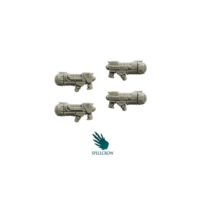 Space Knight Plasma Rapid Guns Spellcrow bits