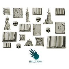 Set Librarium Space Knights bits Spellcrow