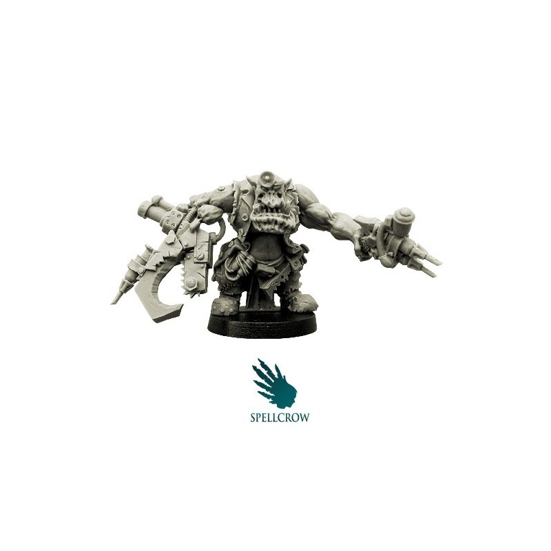 Orc Doctor Spellcrow bits