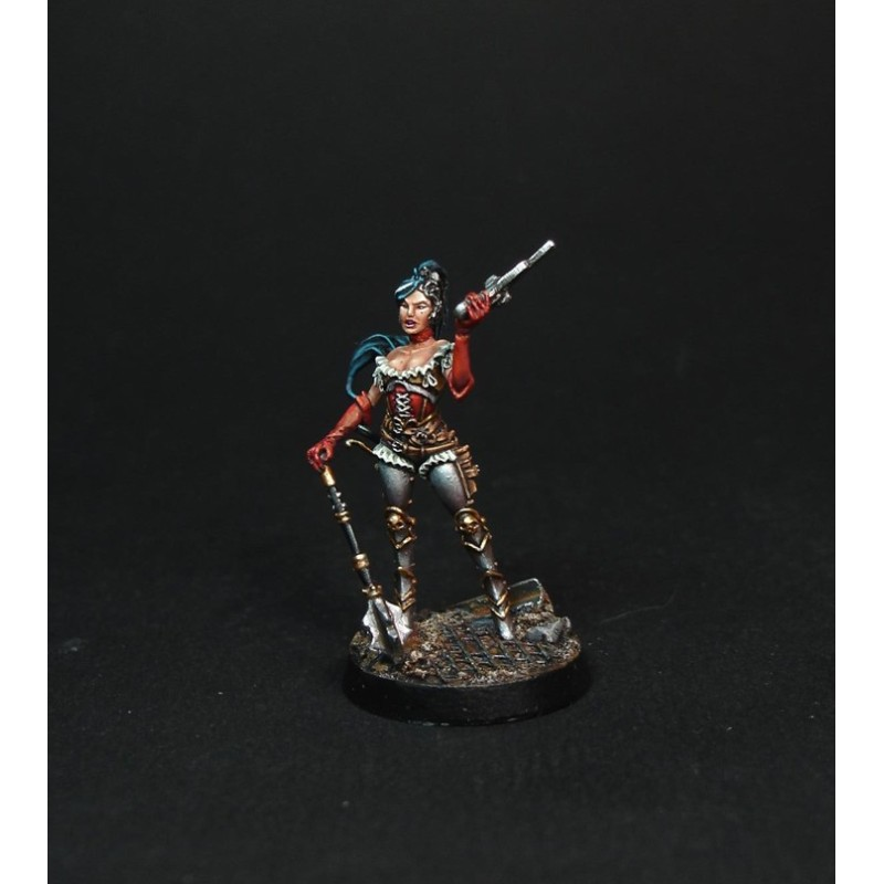 Inquisitrice Alicia Von Gaut figurine Warforge