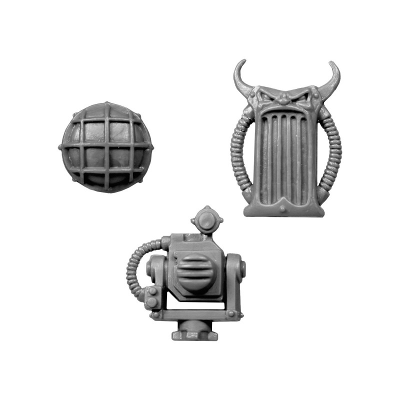 Howler and Projector bitz Chaos Space Marines Rhino