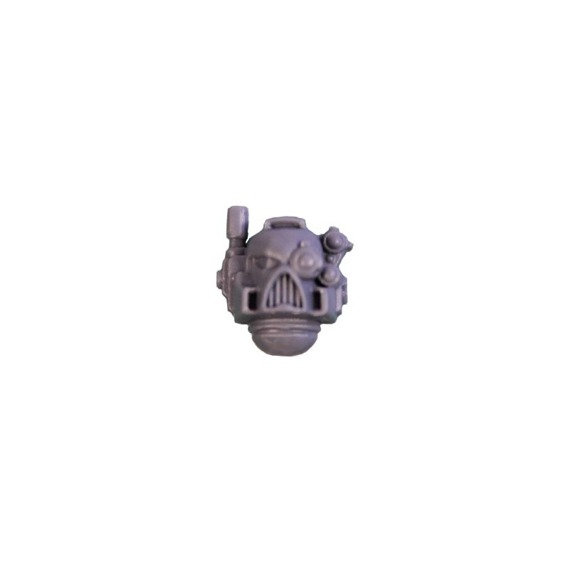 Head with aerial and optical Warhammer 40k Land Raider bitz