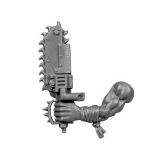 Left Arm with Choppa Knife C Boyz Orks bitz Wh40k