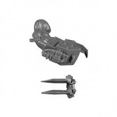 Powerclaw on right arm A bitz Nobz Orks Wh40k