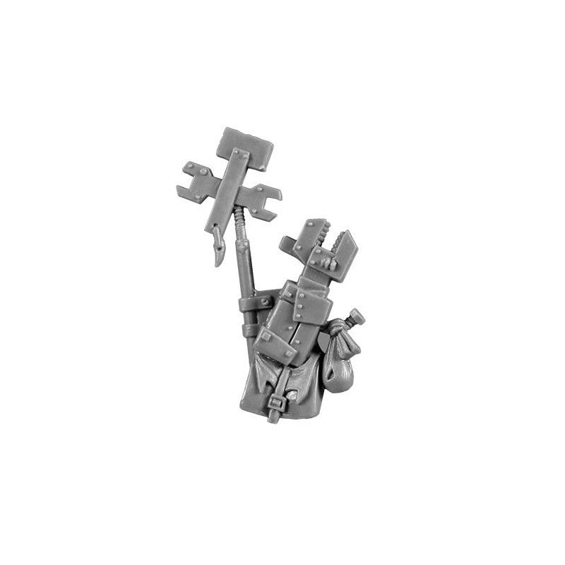 Mek's Backpack Burnas & Lootas bitz Orks Wh40k
