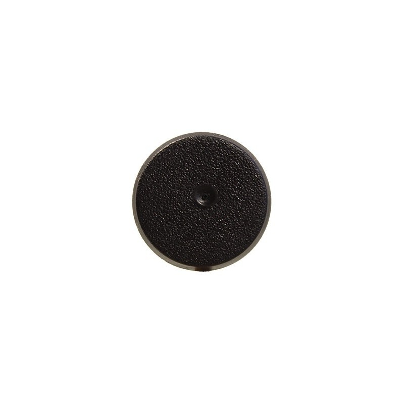 25mm Round Closed Base