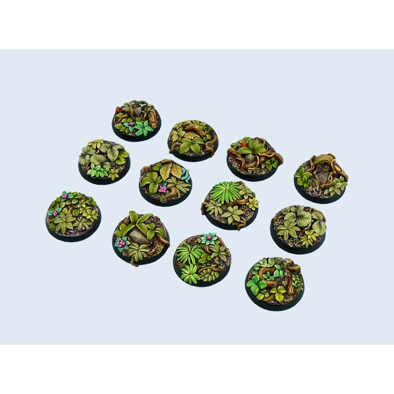Socle Jungle Rond 25mm X5
