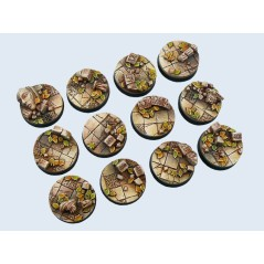 Ancient Base Round 25mm x5