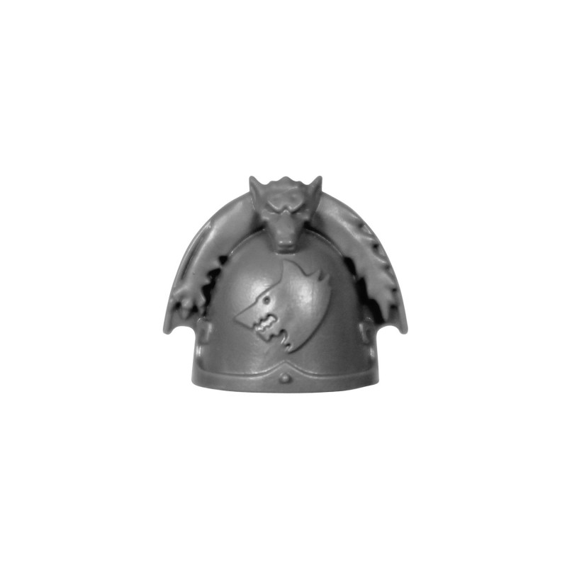 Shoulder Pad A Space Wolves upgrade pack
