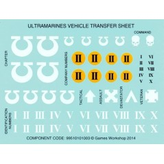 Ultramarines Space Marines vehicles Transfers