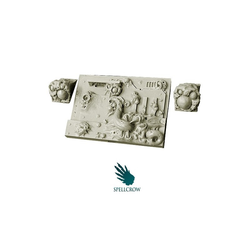 Plague Legions - Front Plate for light Vehicles
