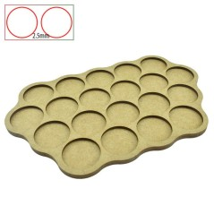 Movement Trays - 20 Bases of 32mm - 2.5mm Spacing