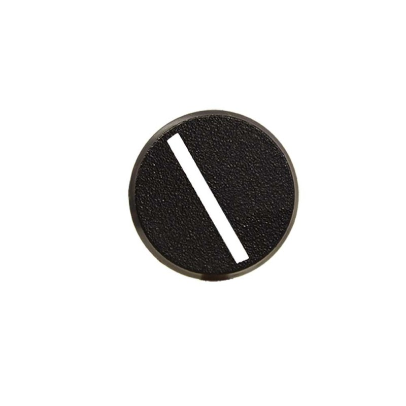 32mm Round Slotted Base