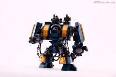 Lego Warhammer 50k fan art