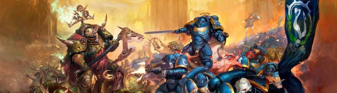 Space marines contre Space Marines du Chaos